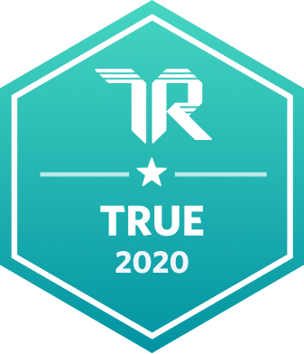 Trust Radius True badge